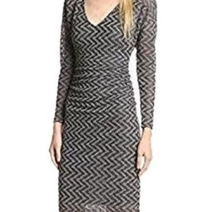 NEW! Plenty by Tracy Reese Geo Gauzy Sexy T Dress